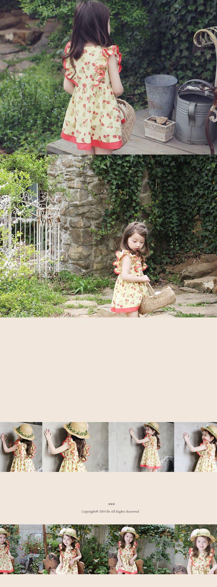 かわいい子供服   ベビー服   キッズファッション輸入通販のセレクトショップ【Peach Baby】Flo デイジワンピース