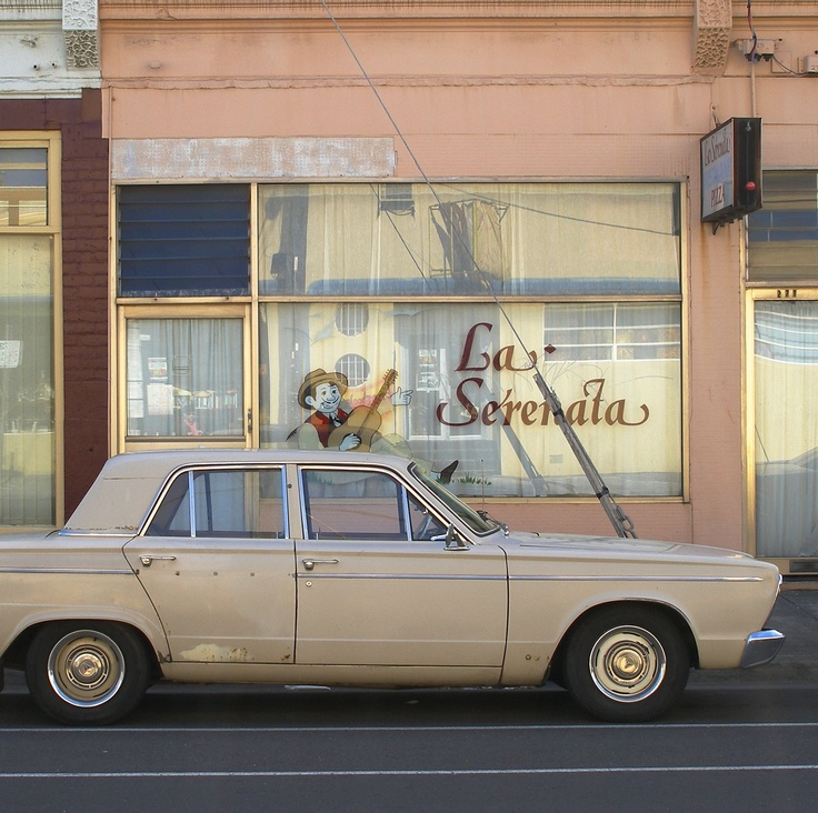 La Serenada restaurant, closed for decades. Albert St, Brunswick, Melbourne, Australia 2005