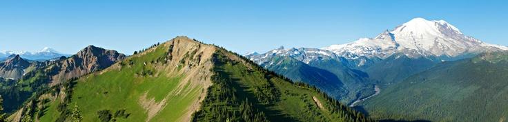 Scenic Gondola Rides - Crystal Mountain Washington. So beautiful