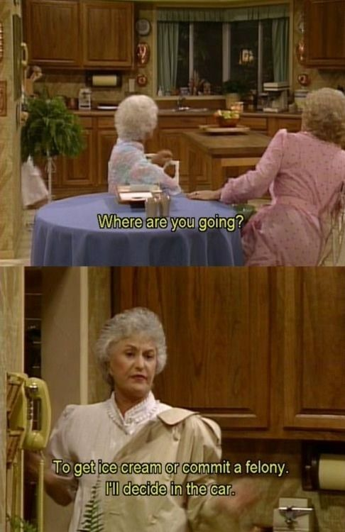 "20 Great ""Golden Girls"" Comebacks. If someone would buy me the Golden Girls in its entirety I'd love them forever!"