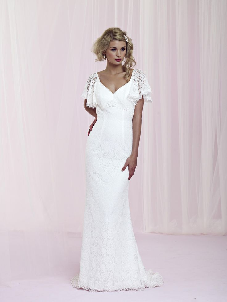 44 best Vintage Wedding Dresses images on Pinterest | Short wedding ...