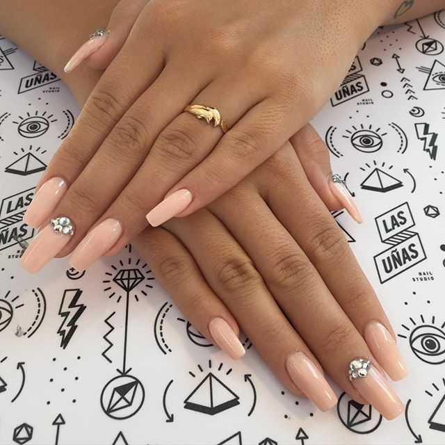 Pin for Later: 11 Squareletto Manicure Ideas That Will Give You a Serious Edge