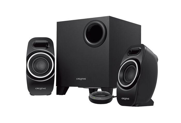 [CATALOGUE GENERAL 2015] Creative T3250 Wireless: Système de haut-parleurs 2.1 Bluetooth. Diffuse la musique sans fil à partir de la plupart des appareils stéréo Bluetooth; Creative IFP (Image Focusing Plate) : améliore la directivité du son et l'image sonore; Technologie avancée Creative DSE (Dual Slot Enclosure); Caisson de basse de type « down-firing »; Boîtier de commande audio avec commutateur ON/OFF. RÉF. 51MF0450AA000 http://www.exertisbanquemagnetique.fr/info-marque/creative