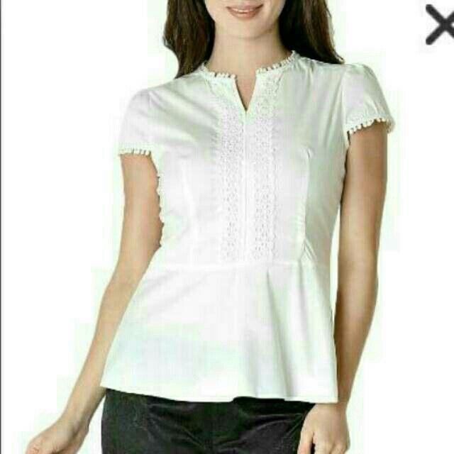 Saya menjual The Executive Blouse White seharga Rp150.000. Dapatkan produk ini hanya di Shopee! http://shopee.co.id/gembelellitte/953847 #ShopeeID