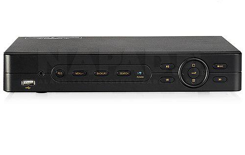 """Rejestrator cyfrowy PX-DVR2308EA: - tryb pracy: pentaplex, - liczba wejść wideo: 8x BNC, - liczba wyjść wideo: 1x CVBS/SPOT, 1x VGA, 1x HDMI, - liczba wejść/wyjść audio: 2/1 (RCA), - prędkość zapisu: główny strumień: 200kl/s (D1/HD1/CIF), 2-gi strumień: 96kl/s (CIF), - kompresja: H.264, - """"odtwarzanie wszystkich kanałów jednocześnie"""", - archiwizacja: 1x HDD SATA III (max. 4TB), 2x USB, LAN, - zdalne sterowanie: myszka."""