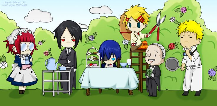 Black Butler Characters Chibi Style