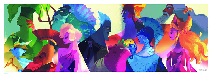 Exclusive: Feast Your Eyes on New Images From the Ron Clements and John Musker Art Show