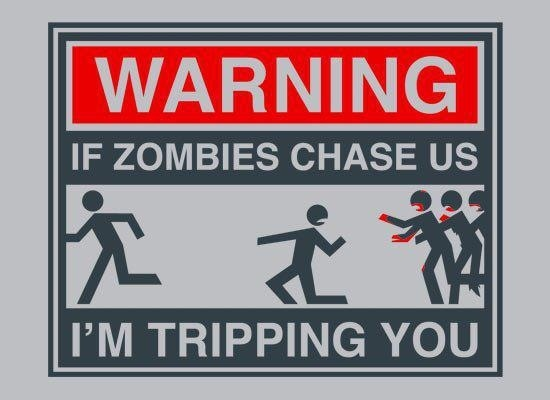 Lol: Quote, Walking Dead, Funny Stuff, Humor, Things, Zombie Apocalypse, Zombies Chase, Funnie