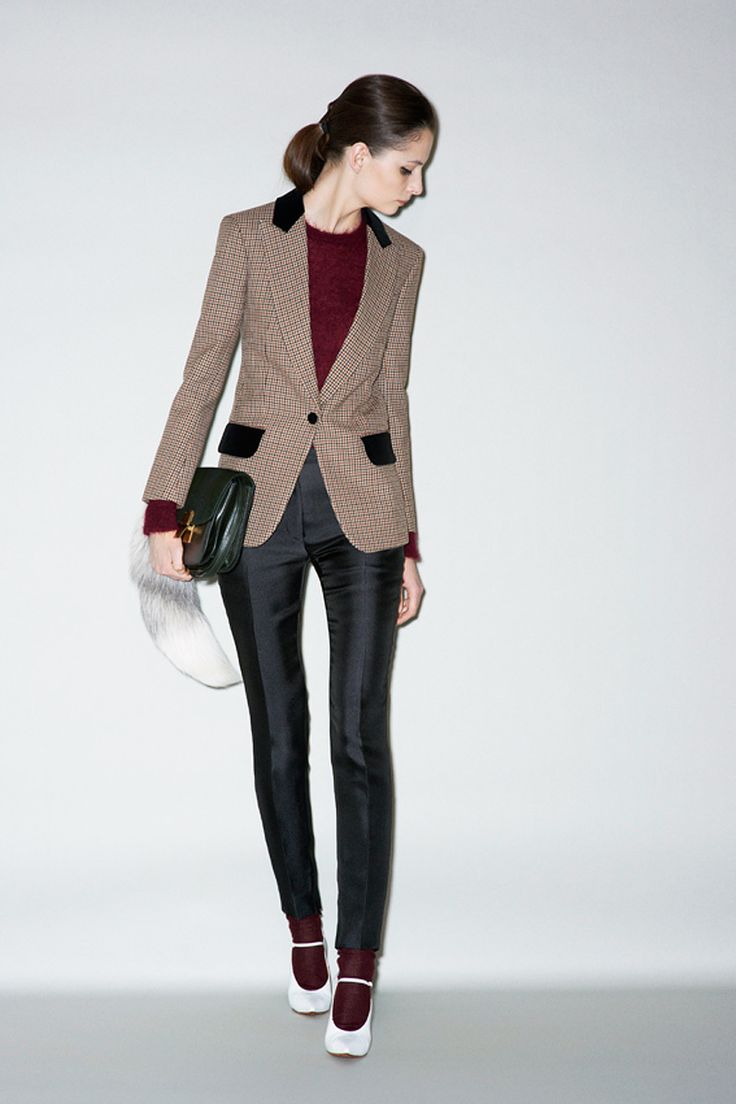 Celine Pre-Fall 2011   Love the tailored look