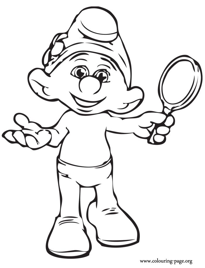 Vanity is one of the main characters of the Smurfs 2 movie. He is obsessed with his own beauty. Have fun coloring this amazing picture!