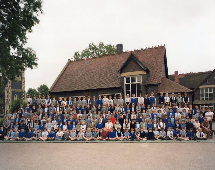 St. James's Primary School, Wollaston, Stourbridge, West Midlands. Early 1980's..