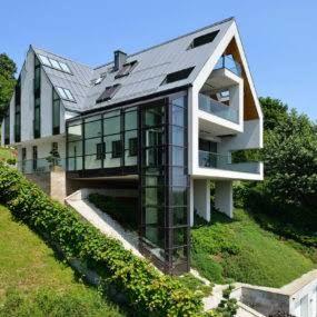houses on a slope designs ile ilgili görsel sonucu