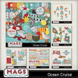 OCEAN CRUISING Scrap Kit