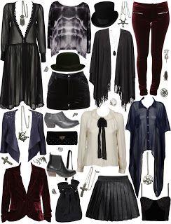 I love this dark bohemian style! Very Stevie Knicks!
