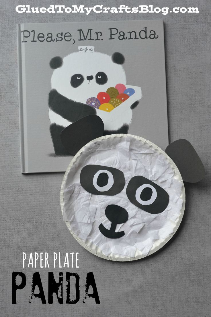 Paper Plate Panda {Kid Craft}