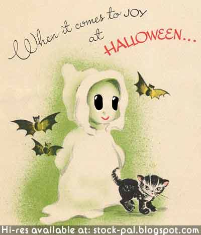 Vintage Holiday Images & Cards: October 2011