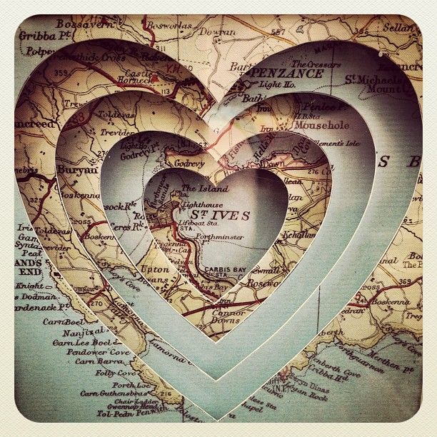 Map art, Could do this with our town, honeymoon location or fave vacay spot