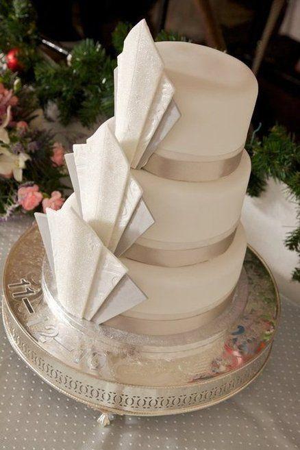 Art Deco Cake - by CakeWitch @ CakesDecor.com - cake decorating website