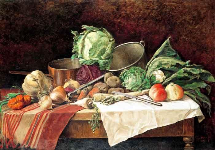 Martwa natura z warzywami