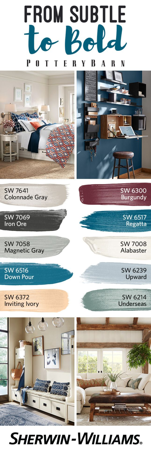When you explore the Pottery Barn Fall/Winter 2016 Palette, you'll discover