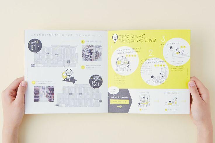 明治学院大学 横浜キャンパス図書館パンフレット&しおり | das. – 株式会社デジタル・アド・サービス