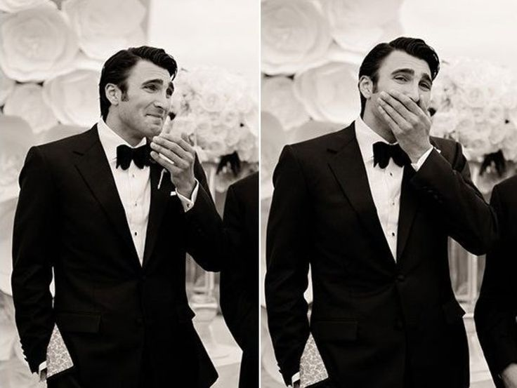 Grooms' Reaction to Seeing Their Brides. If my groom doesn't react like one of these then we're going to have some problems