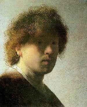 1628년경의 렘브란트 자화상