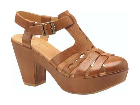 Korkease Women's Shoes - Blythe in Tan Vachetta