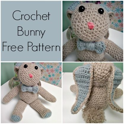 The 279 Best Bunny Rabbit Crochet Patterns Images On Pinterest