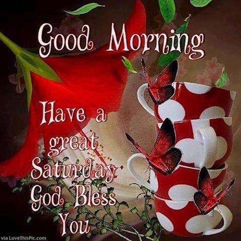 Good Morning, God Bless You.