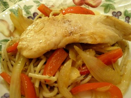mens discount clothing Chicken Scampi  Recipe