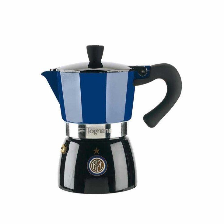 CAFFETTIERA CAFFE  3 TAZZE F.C. INTER PRODOTTO UFFICIALE TOGNANA