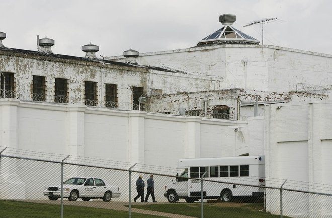 Oklahoma State Penitentiary in McAlester, which now houses many of the state's most violent offenders, has seen an increase in inmate deaths. JAMES GIBBARD/Tulsa World file