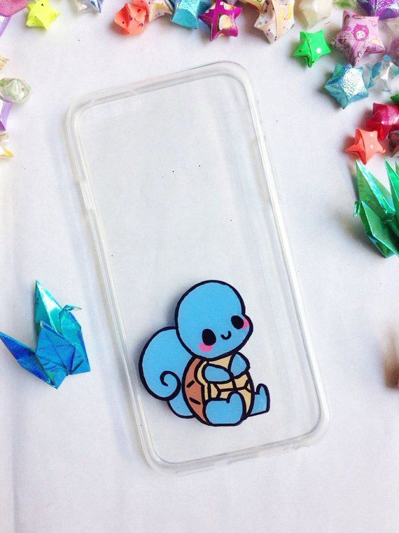 Squirtle Phone Case for iPhone 7 iPhone 8 iPhone X iPhone