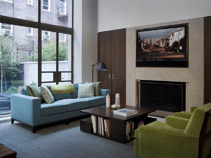 252 best Decorating with Blue \ Green images on Pinterest Blue - cozy living room colors