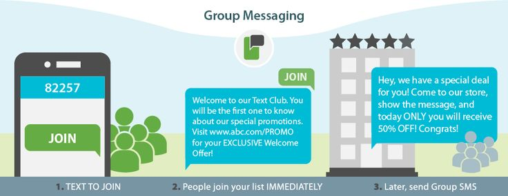 As a leader in SMS marketing, ProTexting offers group text messaging for any type of organizations. CLICK Here to find how you can send text messages to your audience.