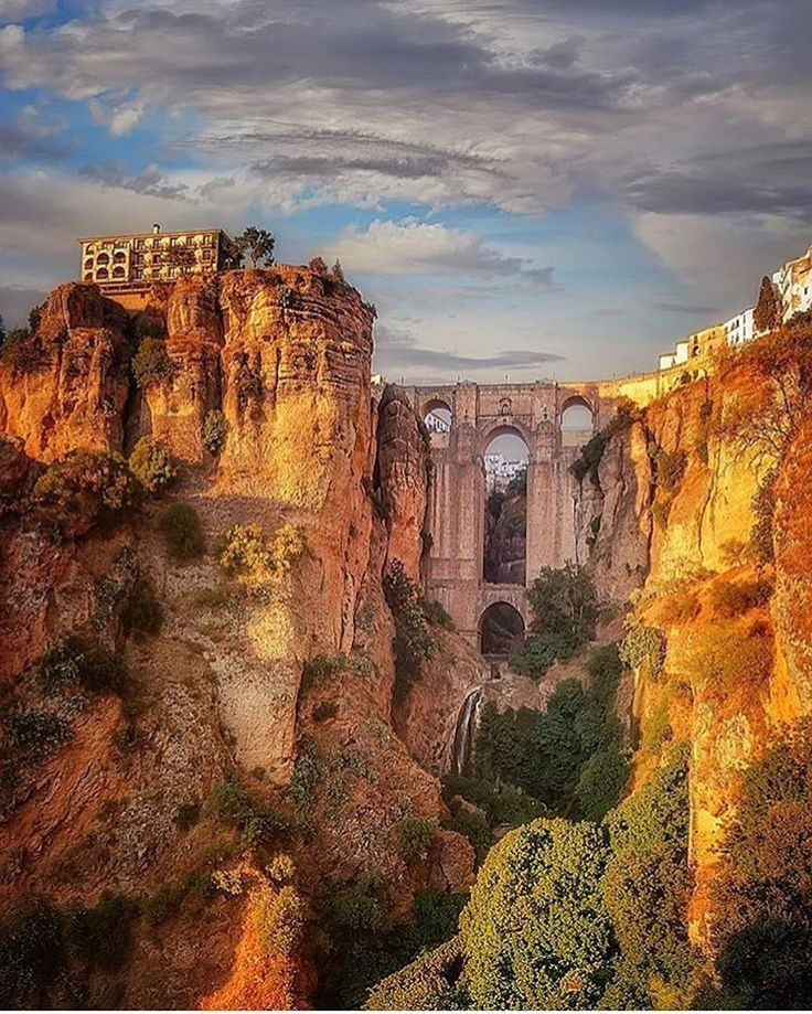 What a view of Malaga! devourspain.com ✈✈✈ Don't miss your chance to win a Free Roundtrip Ticket to Seville, Spain from anywhere in the world **GIVEAWAY** ✈✈✈ https://thedecisionmoment.com/free-roundtrip-tickets-to-europe-spain-seville/