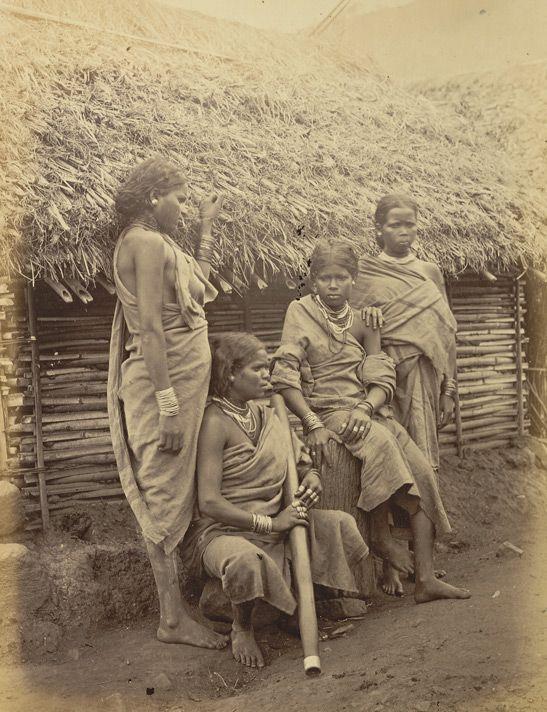 Irula women from the Nilgiri hills of Tamil Nadu