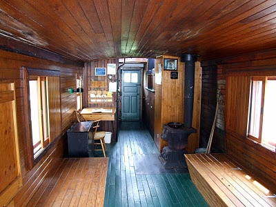 Caboose Interior There Were Many Different Designs And