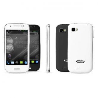 IMPERIUS MINI MT7015 to mały, poręczny smartfon marki Media-Droid dla osób ceniących wygodę i elegancję.  Wyposażony w 4-calowy wyświetlacz stanowi najlepszy kompromis pomiędzy jakością pracy, a niewielkimi wymiarami. Dzięki systemowi Dual SIM daje możliwość korzystania z dwóch kart SIM, co z jednej strony jest bardzo komfortowym rozwiązaniem, a z drugiej pozwala zaoszczędzić sporo pieniędzy.