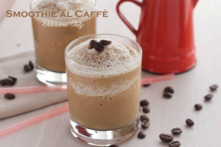 Una fresca bevanda, lo Smoothie al Caffè è delicata proprio per la presenza del latte di mandorla che addolcisce l'amaro del caffè :)