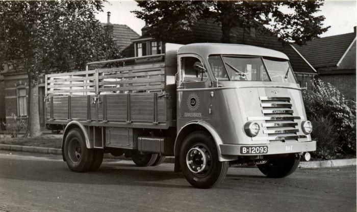 DAF B 12093 Friese Nummerbewijzen, kentekens voor auto's en motoren 1906-1951