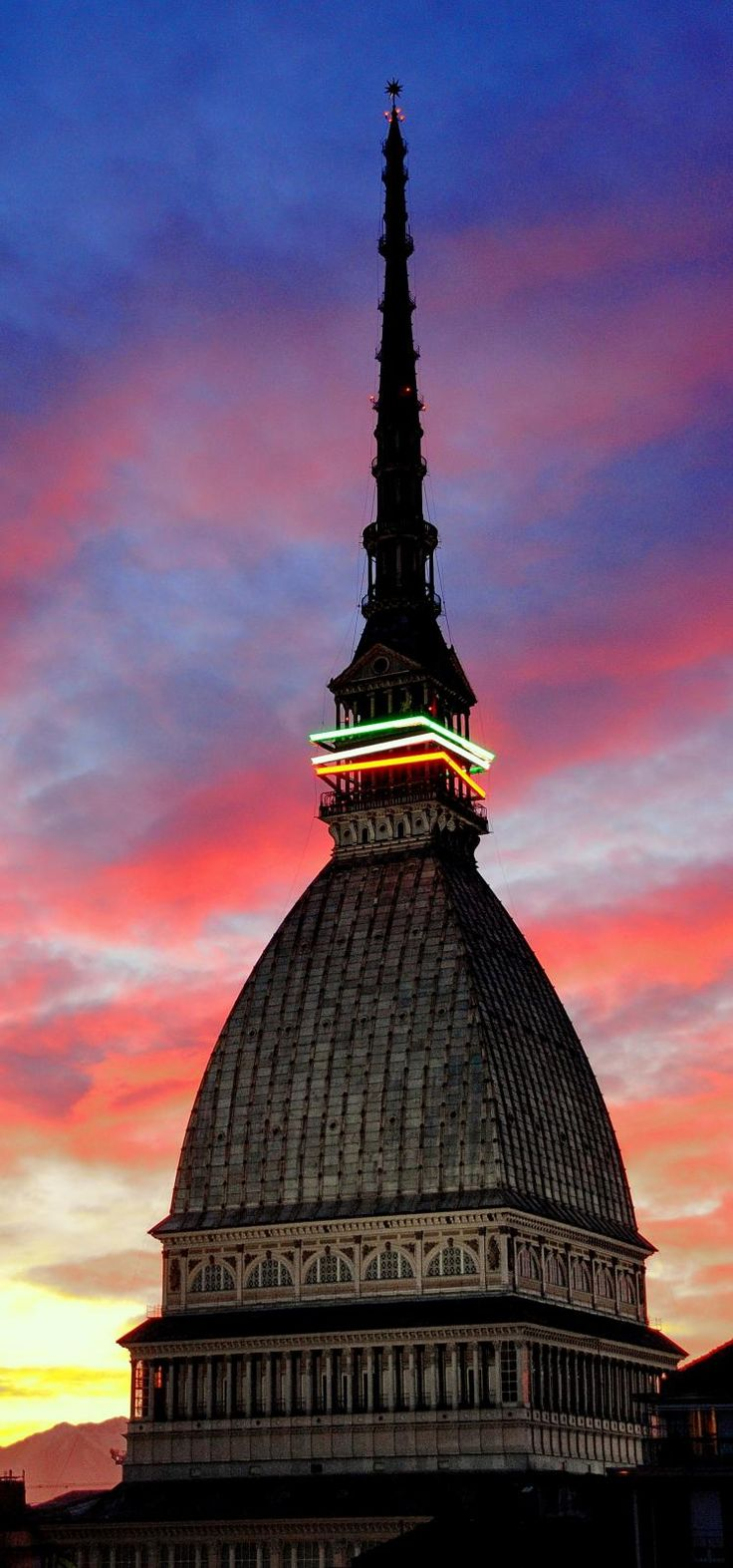 Cupola di Mole Antonelliana, Torino, Italy, province of Turin , Piemonte region, Italy.