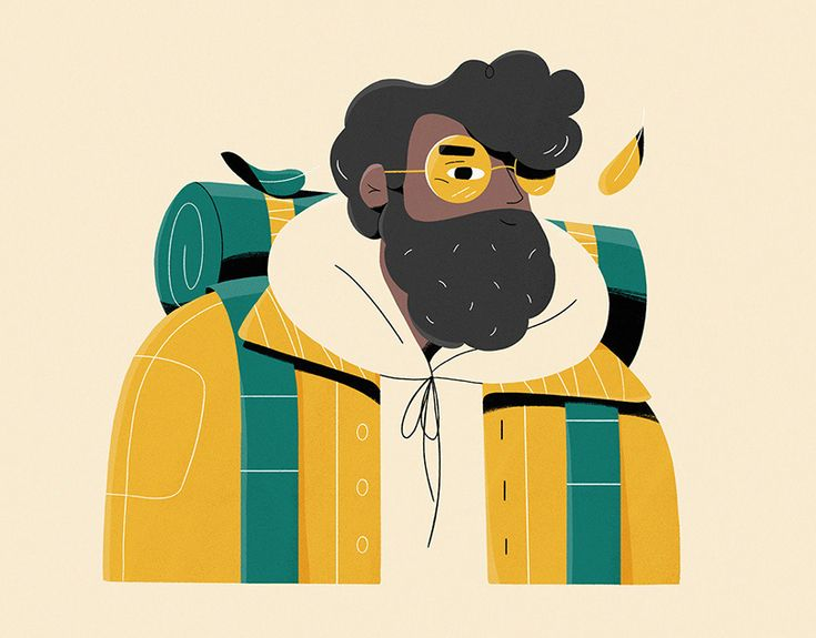 Personal illustration on behance illustration character