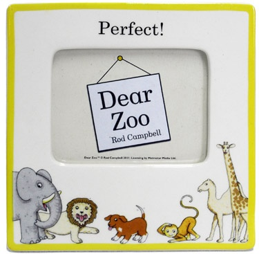 dear zoo picture frame