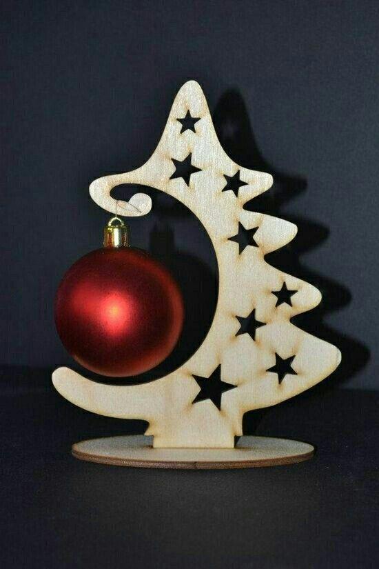 Navidad en madera