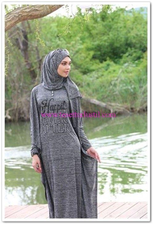 Latifa 2015 spor tesettür elbise modelleri