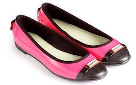Zapatos hunter rosa