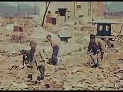 ファイル:Hiroshima Aftermath 1946 USAF Film.ogg