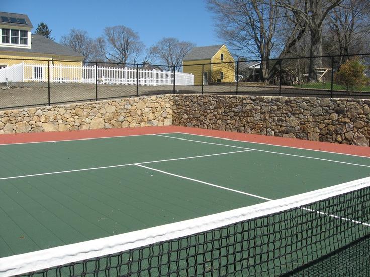 Tennis Court In My Backyard Various Design